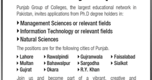 Punjab-Group-of-Colleges-Lahore-Jobs-31-Mar-2019