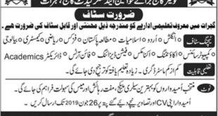 Queens-College-for-Women-and-Kings-Cadet-College-Gujrat-Jobs-24-June-2019