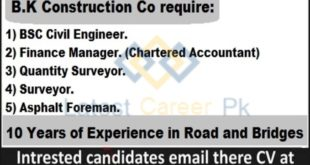B-K-Construction-Company-Pvt-Sargodha-Jobs-23-June-2020