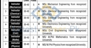 POF-Institute-of-Technology-POFIT-Wah-Cantt-Jobs-13-July-2020