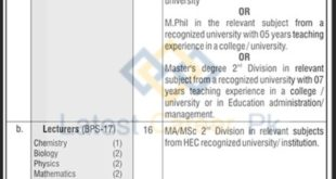 The-Cadet-College-Muzaffarabad-CCM-Muzaffarabad-Jobs-28-Aug-2020
