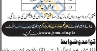 Jinnah-Sindh-Medical-University-JSMU-Karachi-Jobs-15-Sep-2020