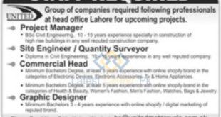 United-Group-of-Companies-Pvt-Limited-Lahore-Jobs-14-Sep-2020