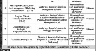 Oil-and-Gas-Development-Company-Limited-OGDCL-Islamabad-Jobs-20-Oct-2020