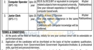Establishment-of-Panagahs-Khyber-Pakhtunkhwa-Jobs-23-Jan-2021