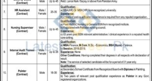 Hayatabad-Medical-Complex-HMCKP-Peshawar-Jobs-22-Jan-2021