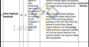 Wazirabad-Institute-of-Cardiology-WIC-Wazirabad-Jobs-21-Jan-2021