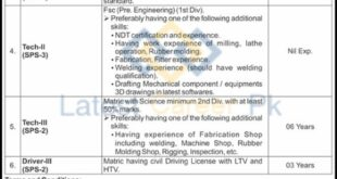 Scientific-And-Engineering-Services-Directorate-SES-Islamabad-Jobs-28-Mar-2021