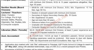 ASF-Public-School-And-College-Karachi-Jobs-16-May-2021
