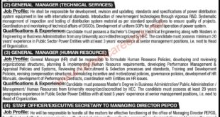 Pakistan-Electric-Power-Company-PEPCO-Lahore-Jobs-09-May-2021