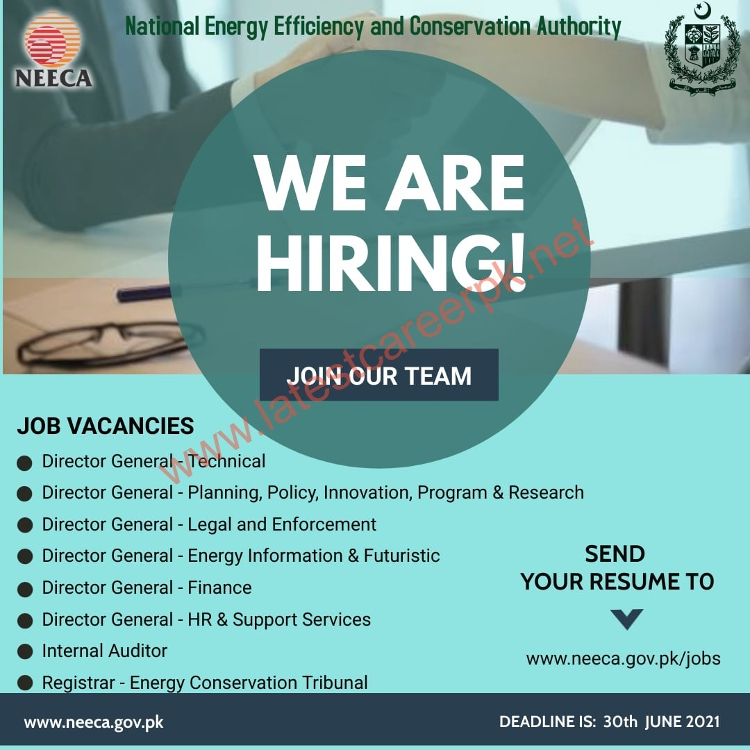National-Energy-Efficiency-And-Conservation-Authority-Islamabad-Jobs-19-June-2021