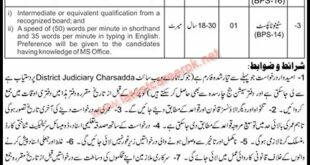 District-And-Session-Courts-Charsadda-Jobs-03-Sep-2021