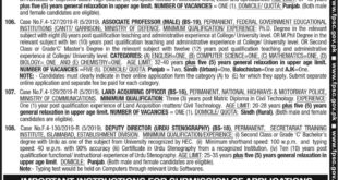 Federal-Public-Service-Commission-PPSC-05-Islamabad-Jobs-04-May-2019