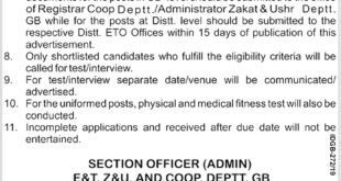 Govt-of-GB-Excise-and-Taxation-Department-Gilgit-Baltistan-Jobs-18-May-2019