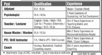 Federal Public Service Commission (FPSC-05-2019) Islamabad Jobs