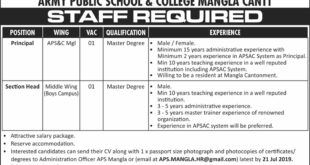 Army-Public-School-and-College-Mangla-Cantt-Jobs-13-July-2019