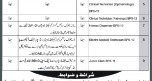 District-Headquarter-Hospital-Chitral-Jobs-16-July-2019