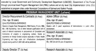 Local-Government-and-Community-Development-Department-Punjab-Jobs-17-July-2019