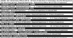Mehria-Town-Pvt-Limited-Attock-Jobs-28-July-2019