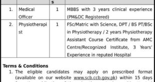 Cantonment-General-Hospital-CGH-Sialkot-Jobs-07-Aug-2019