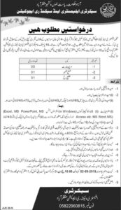 Elementary-and-Secondary-Education-Department-Muzaffarabad-Jobs-11-Aug-2019