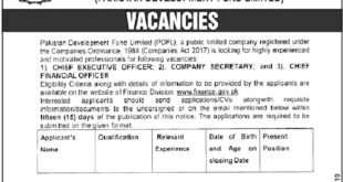 Govt-of-Pakistan-Finance-Division-Islamabad-Jobs-17-Aug-2019