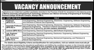 Mehran-University-of-Engineering-and-Technology-Jamshoro-Jobs-14-Aug-2019
