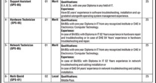 Ministry-of-National-Health-Services-Regulations-Islamabad-Jobs-05-Aug-2019