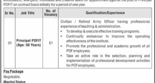 POF-Institute-of-Technology-POFIT-Wah-Cantt-Jobs-17-Aug-2019