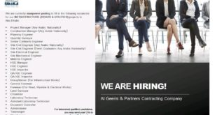Al-Geemi-and-Partners-Contracting-Company-United-Arab-Emirates-Jobs-11-Sep-2019