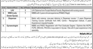 Cantonment-General-Hospital-CGH-Okara-Jobs-06-Sep-2019