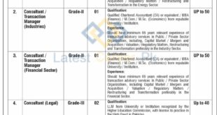 Govt-of-Pakistan-Ministry-of-Privatisation-Commission-Islamabad-Jobs-13-Sep-2019