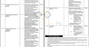 Govt-of-Punjab-Information-Commission-RTI-Lahore-Jobs-22-Sep-2019