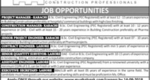 Mughals-Pakistan-PVT-Limired-Lahore-Karachi-Jobs-08-Sep-2019