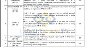 The-Islamia-University-of-Bahawalpur-IUB-Bahawalpur-Jobs-09-Sep-2019