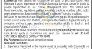 Water-and-Sanitation-Services-Company-WSSCM-Mardan-Jobs-14-Sep-2019