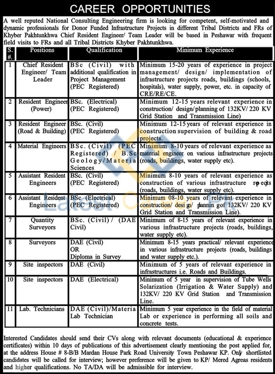 Cameos-Consultants-Pvt-Limited-Khyber-Pakhtunkhwa-Jobs-08-Nov-2019