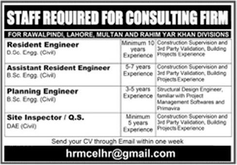 Master-Consulting-Engineering-Pvt-Ltd-Lahore-Jobs-17-Nov-2019