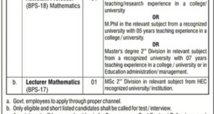 The-Cadet-Collge-Muzaffarabad-CCM-Muzaffarabad-Jobs-04-Dec-2019
