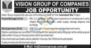 Vision-Group-Pvt-Limited-Islamabad-Jobs-22-Dec-2019