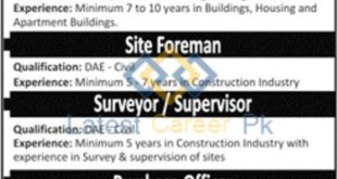 SKB-Engineering-and-Construction-Company-Pvt-Ltd-Lahore-Jobs-26-Jan-2020