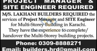MS-Lakhani-Builders-Pvt-Limited-Karachi-Jobs-25-Feb-2020