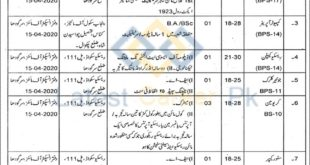 Government-of-Punjab-Chief-Inspectorate-of-Mines-Lahore-Jobs-23-Mar-2020