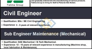 Fatima-Group-Pvt-Limited-Multan-Jobs-03-Apr-2020
