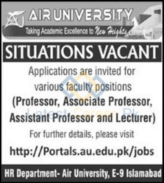 Air-University-AU-Islamabad-Jobs-07-May-2020