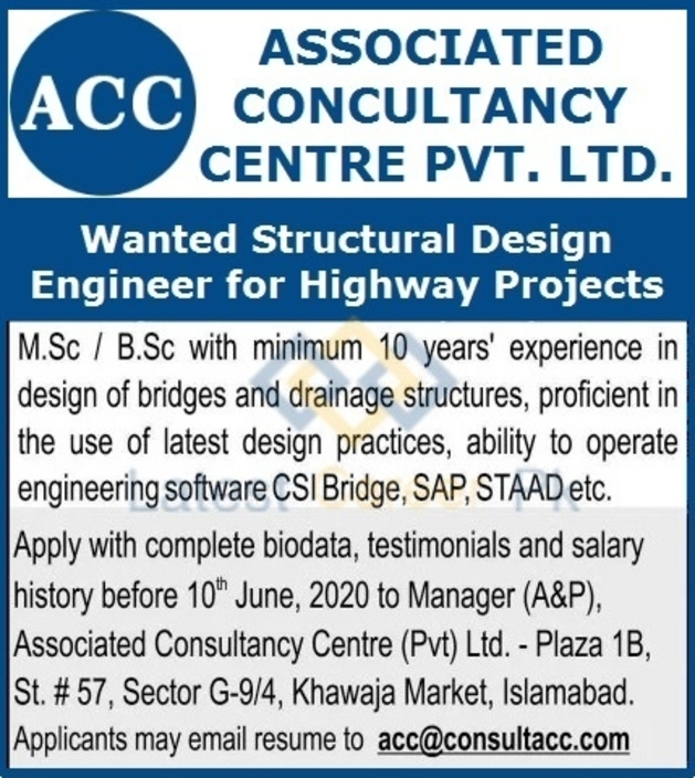 Associated-Consultancy-Centre-ACC-Pvt-Limited-Islamabad-Jobs-21-May-2020