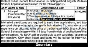 District-Public-School-DPS-Minchinabad-Bahawalnagar-Jobs-23-May-2020