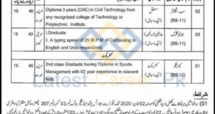 Govt-of-AJK-Youth-Sports-and-Culture-Department-Muzaffarabad-Jobs-09-May-2020