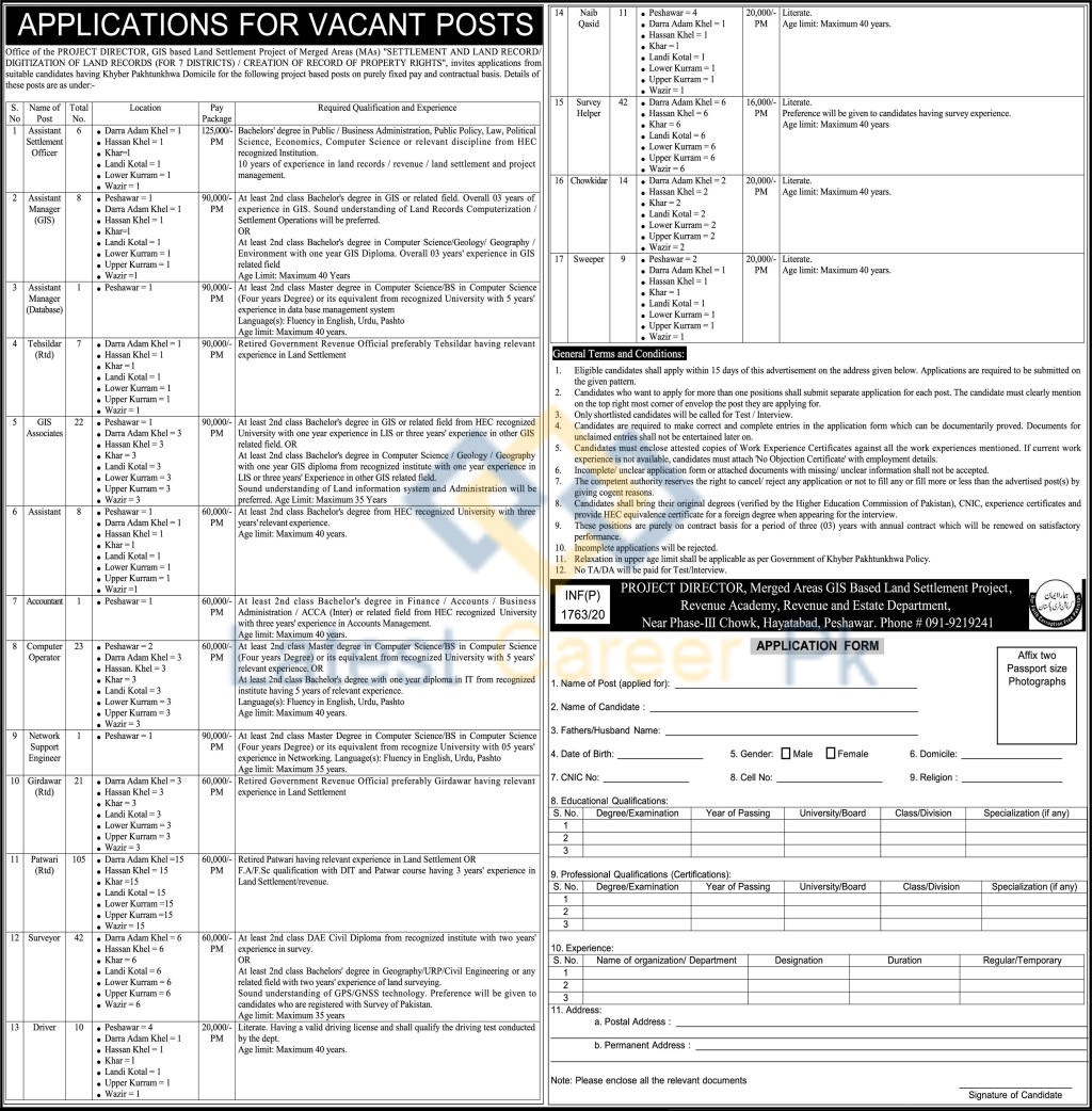 Govt-of-KPK-Revenue-and-Estate-Department-Khyber-Pakhtunkhwa-Jobs-21-May-2020