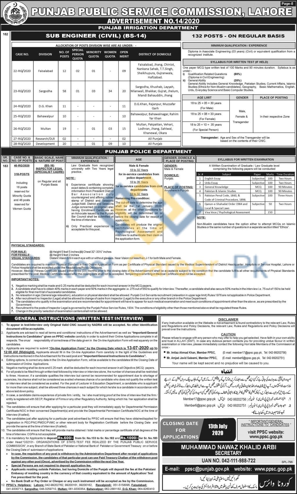 Punjab-Public-Service-Commission-PPSC-14-Punjab-Jobs-28-June-2020-05
